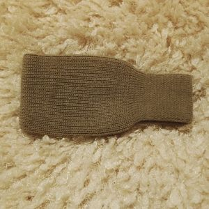 Other - Knitted tan headband/ ear protection Juniors